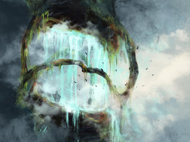 Heavenly Falls by Tira-Owl