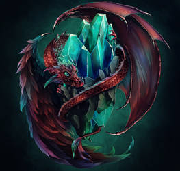 Dragon Keeper by Tira-Owl