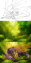 Process  FanArt Heroes3 by Tira-Owl