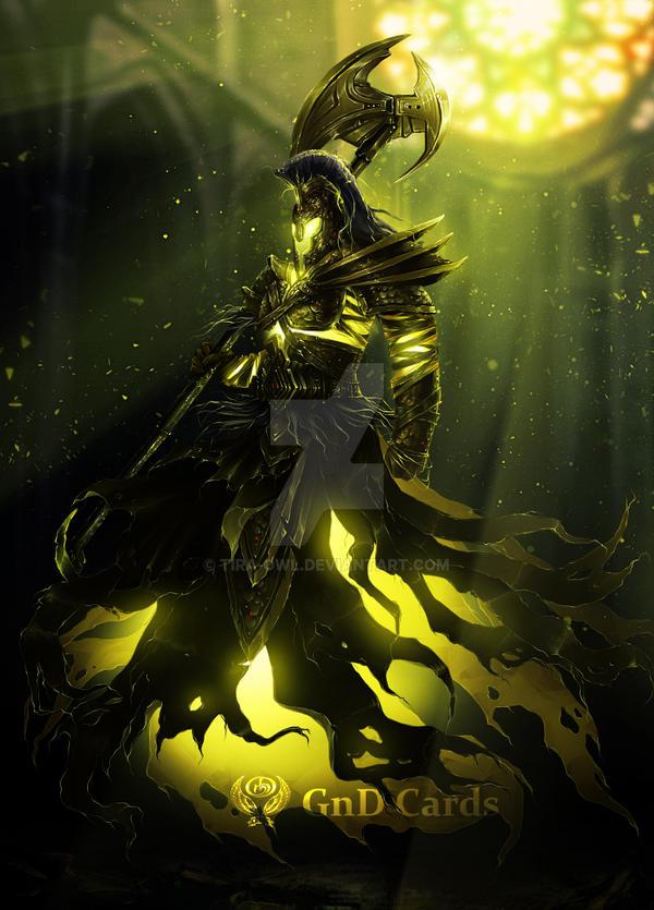 Spirit warrior by Tira-Owl
