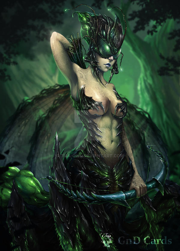 Insect Queen by Tira-Owl