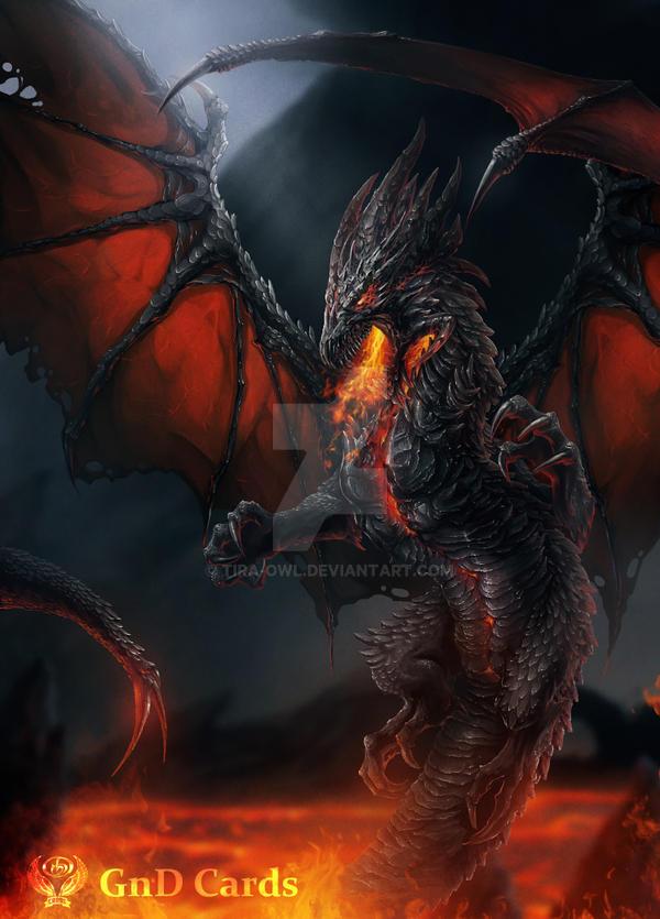 Black Dragon by Tira-Owl