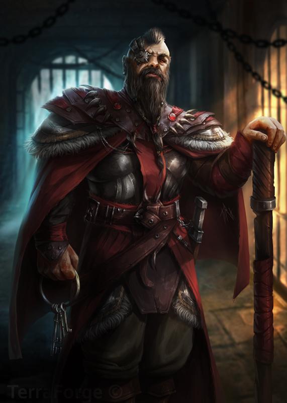 Warden by Tira-Owl