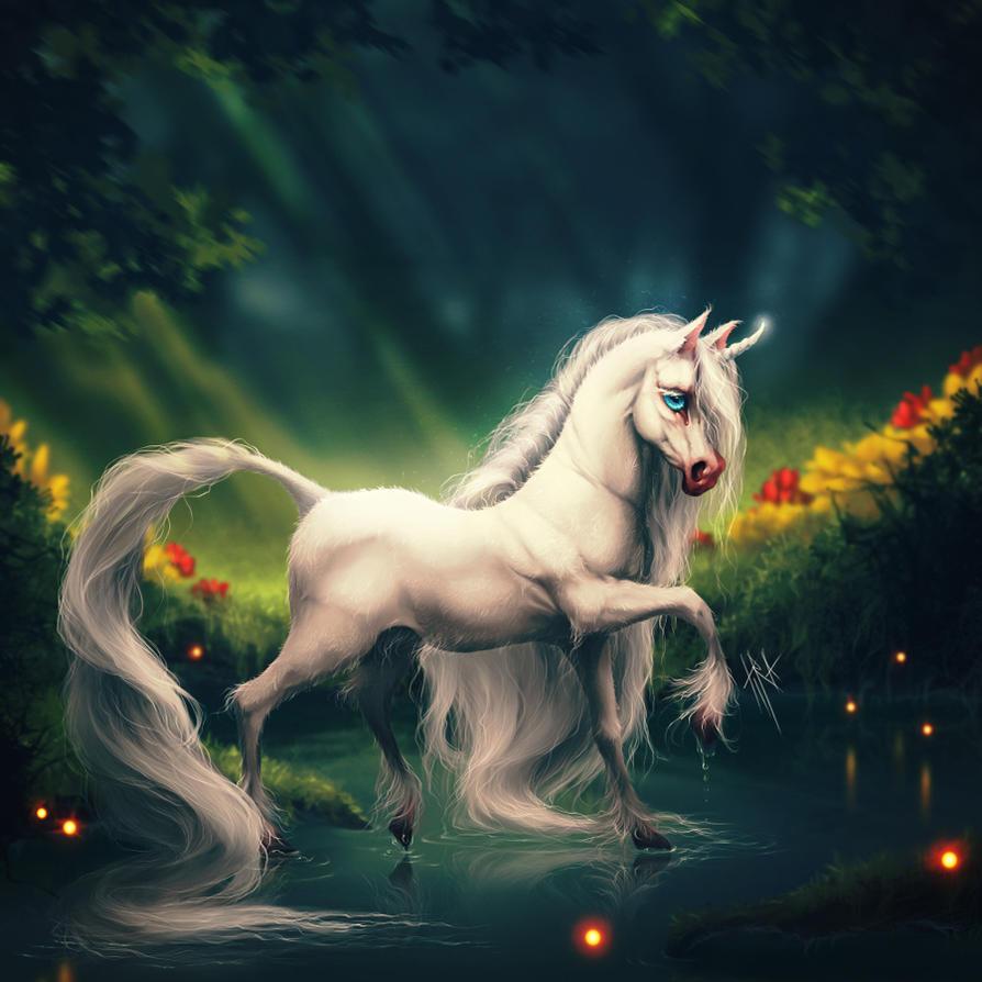 Little Unicorn by Tira-Owl