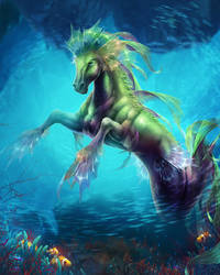 Hippocampus by Tira-Owl