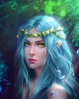 Iliel by Tira-Owl