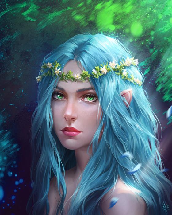 Elvish People Iliel by Tira-Owl on D...