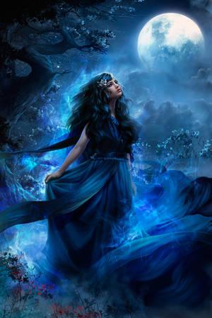 Blue Moon by Tira-Owl