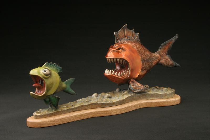 Назад в детство: забавные скульптуры Randy Hand (6 фото)