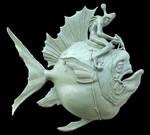 Fish Rider WIP