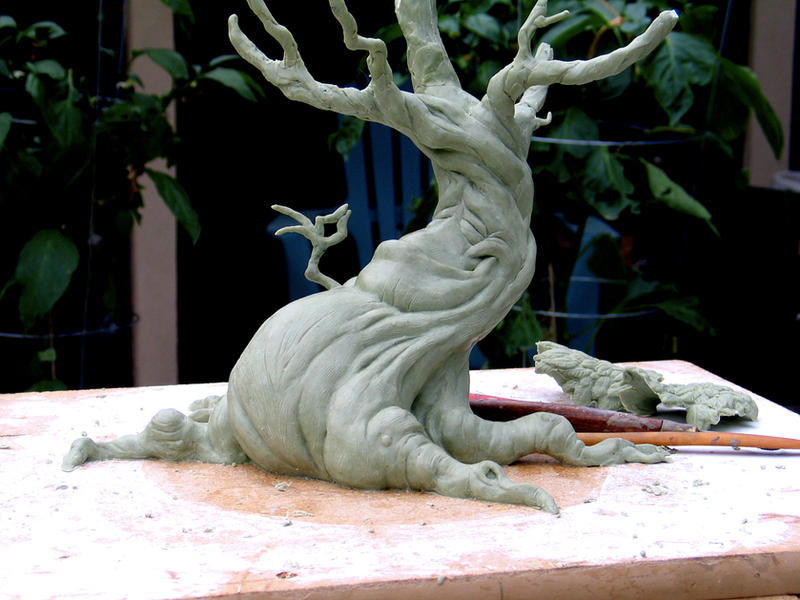 Tree sculpture wip front by randyhand on deviantart
