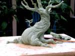 tree sculpture WIP front