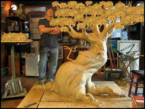 progress on BIG tree...