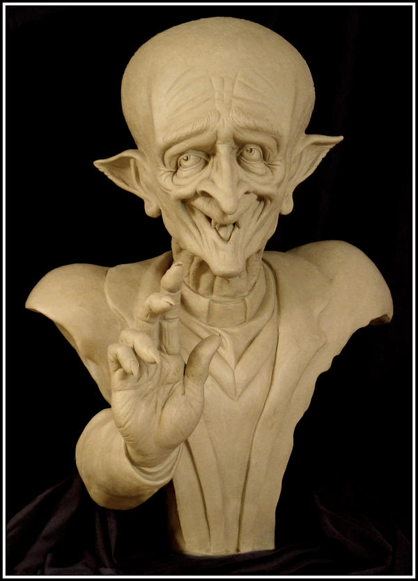Phineas O Mallyce sculpture by RandyHand