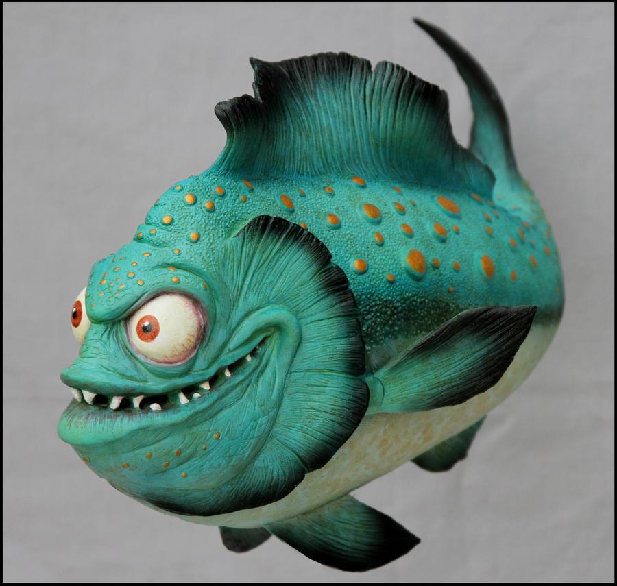 Vishy Vishy fish 1 by RandyHand
