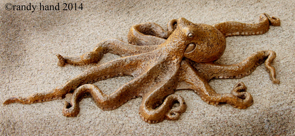 Octopus bronze1 by RandyHand