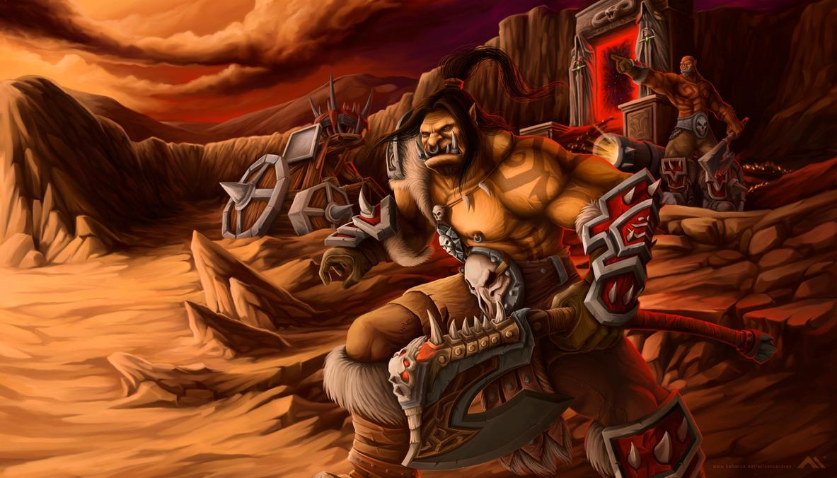 warlords of draenor by wilson-naraku