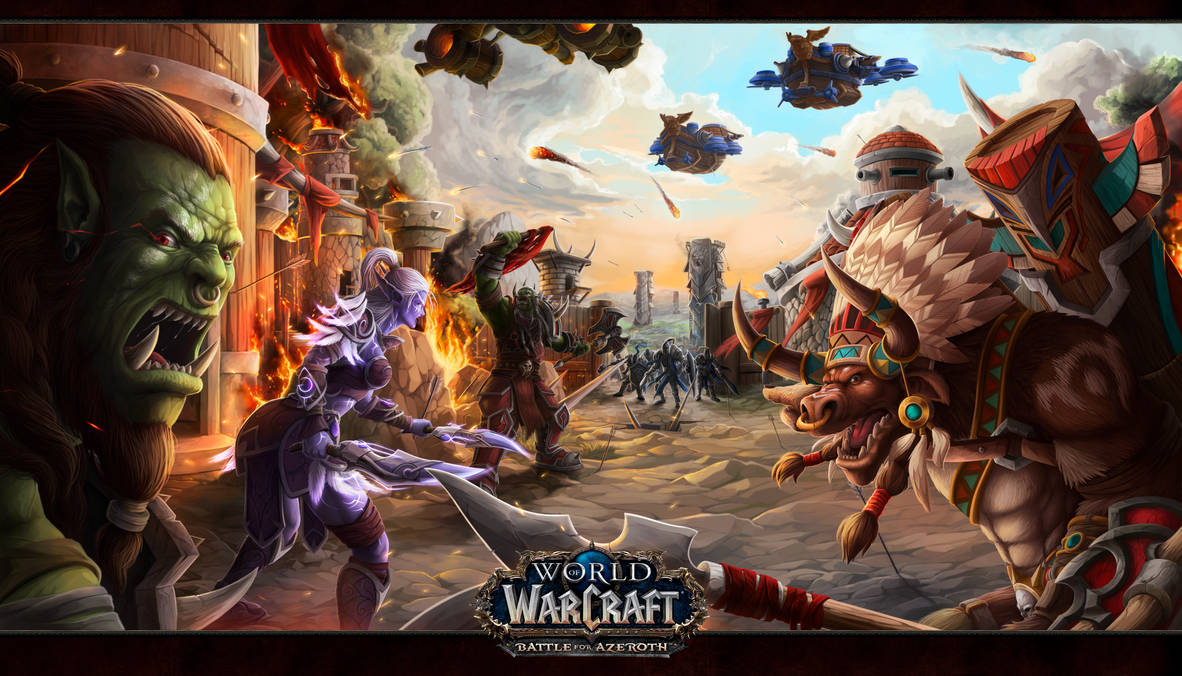 World of Warcraft Battle for azeroth warfront