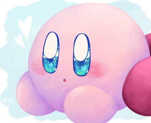Kirby but cuter