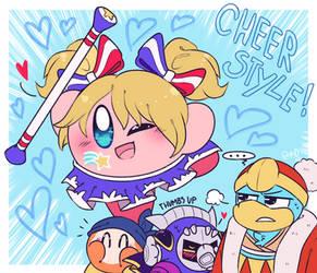 Cheer Style Kirby!