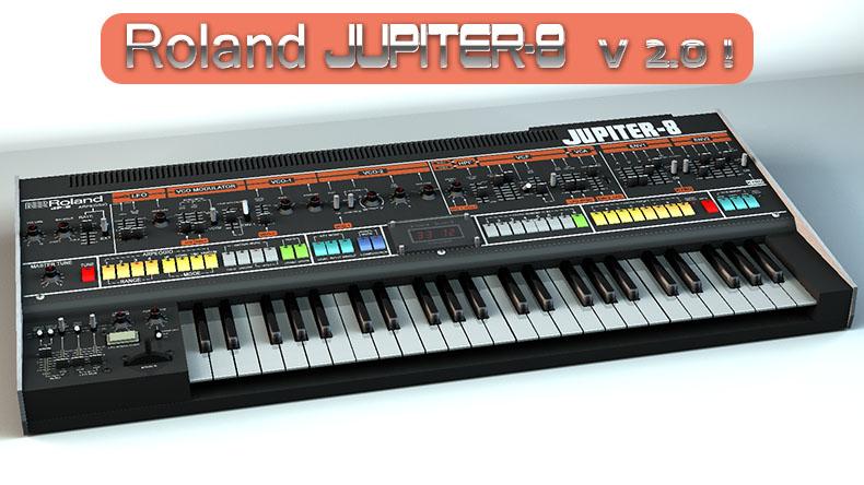 Roland Jupiter-8 V2 3D model by staiff on DeviantArt