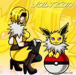 Gijinka and Pokemon Jolteon