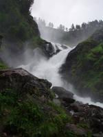 Waterfall 02 by NenjasStock
