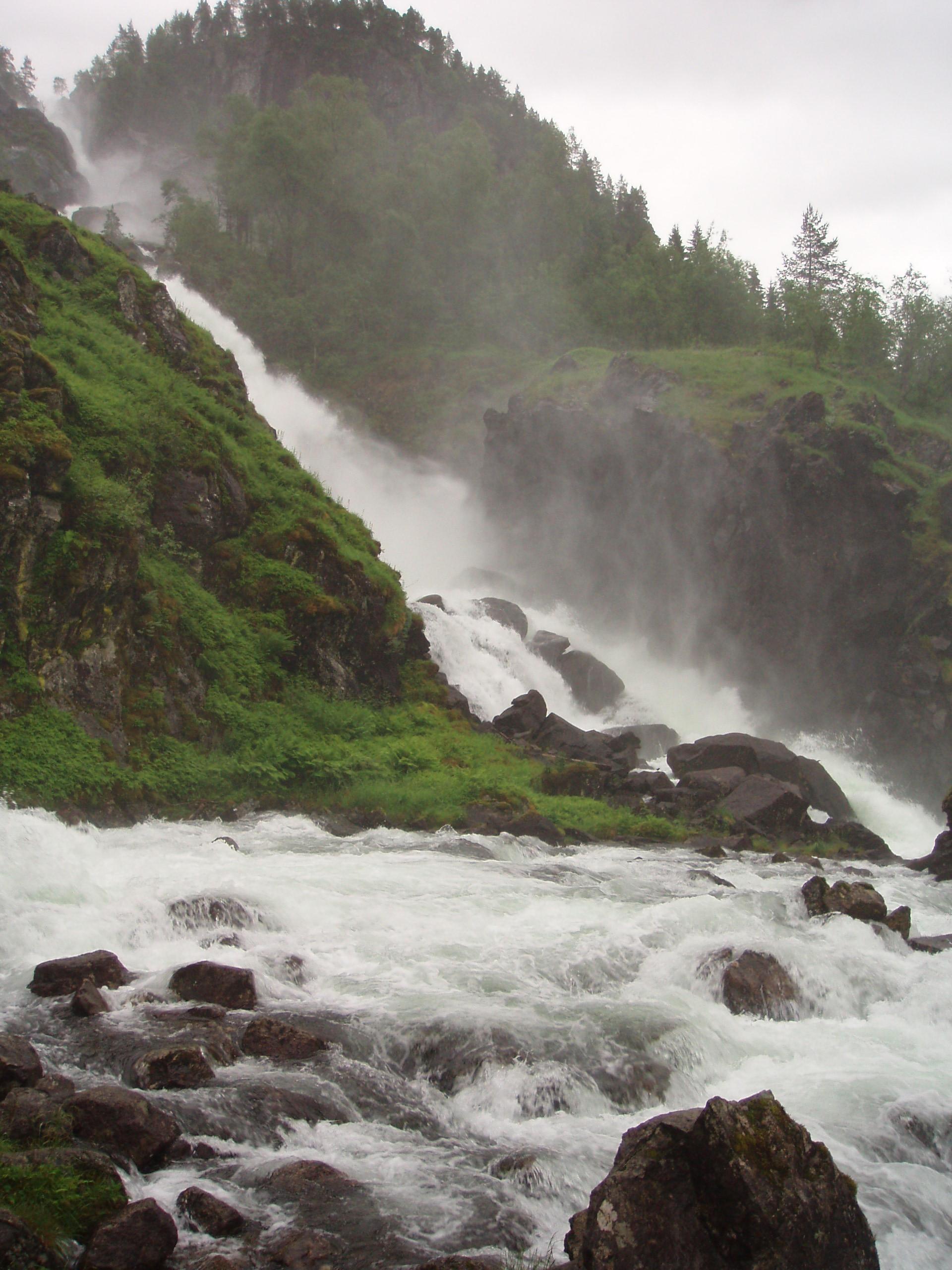Waterfall 12 by NenjasStock