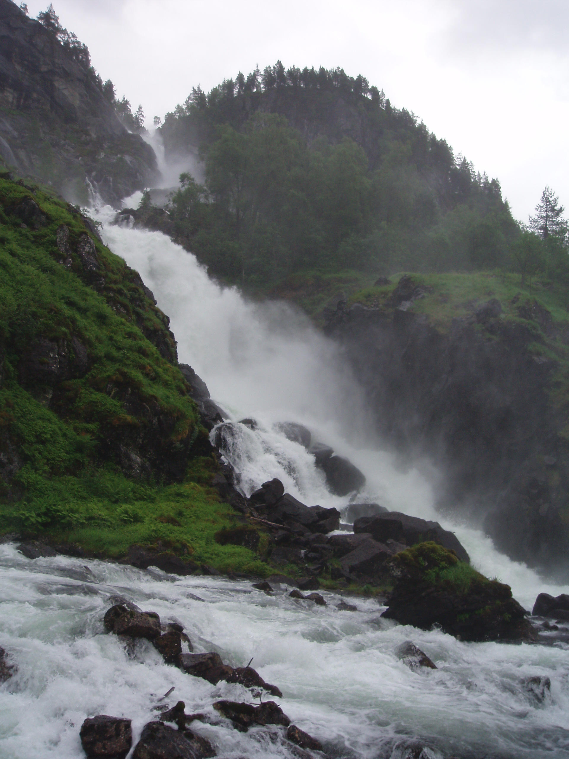 Waterfall 14 by NenjasStock