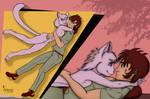 Bagi and Ryu by kaizer765