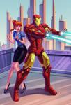 iron man fanart by YuKoCheen
