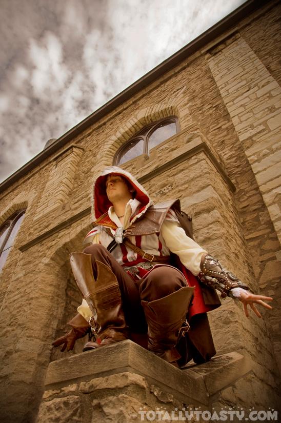 Ezio Auditore cosplay by Forcebewitya