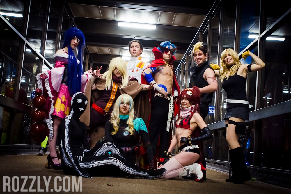 Gurren Lagann group by Forcebewitya