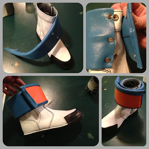 Gene Starwind Boot WIP by Forcebewitya