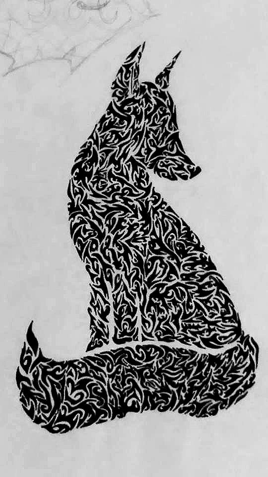 Fox tattoo by alexainen