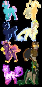 Aesthetic Generator Pony Adopts (5/8 OPEN)