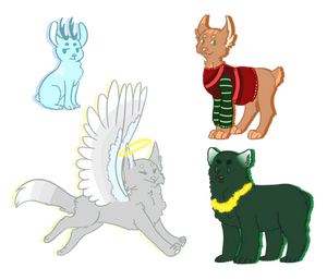 Christmas Point Adopts (cheap) (1/4 OPEN)