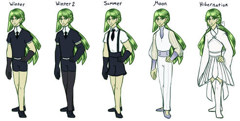 Olivine Outfits
