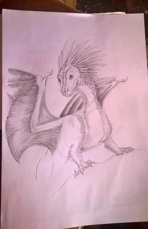 Sketch by SilverWolfi