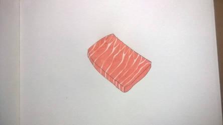Inktober 2018 - Day 31: Slice by SilverWolfi