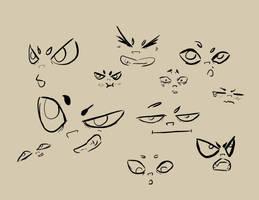 Missy Expression Doodles