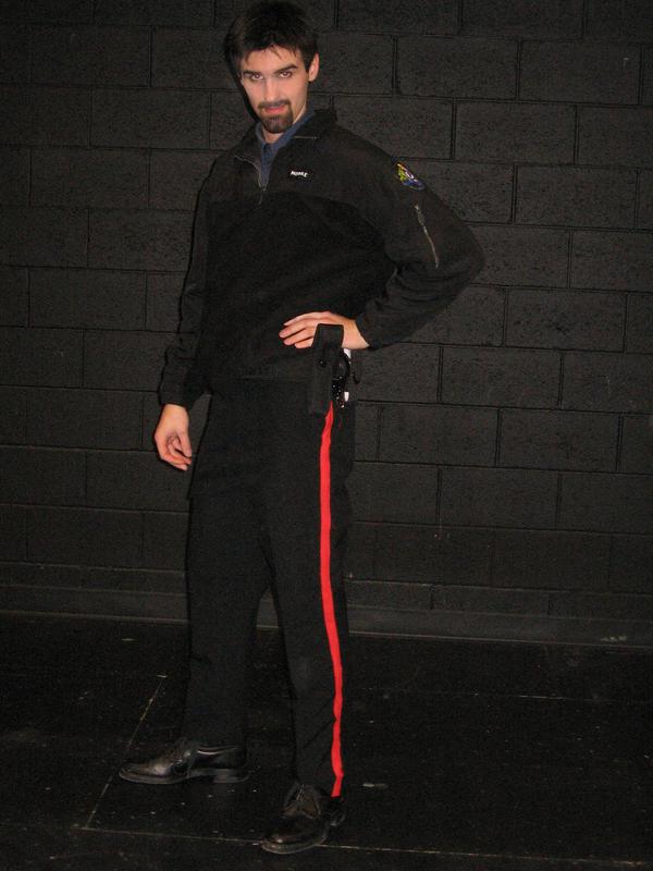 Officer Moore by darkhemian
