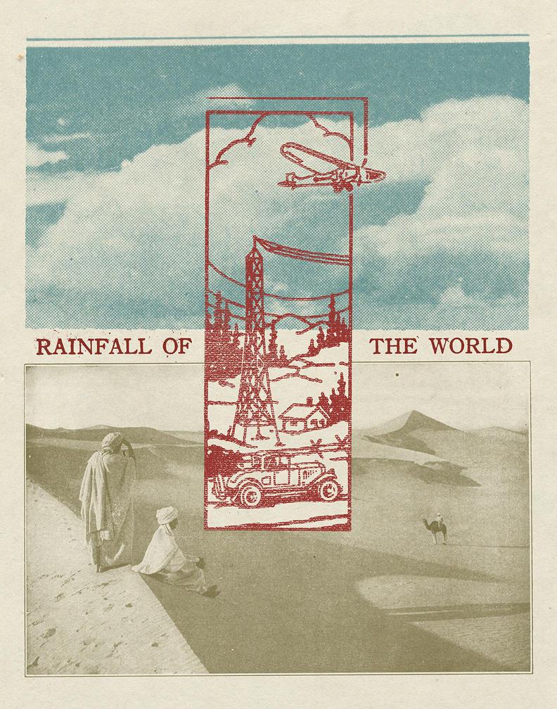 RainfallOfTheWorld-Behance by HandsomeJake