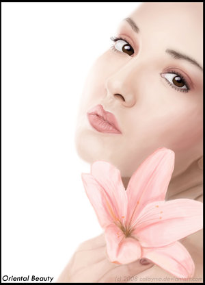 Oriental Beauty by Hispanart