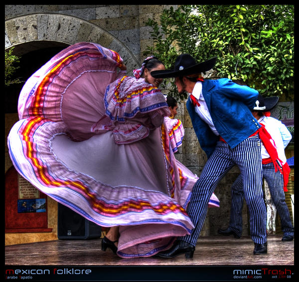 Mexican Folklore - JT I by Hispanart