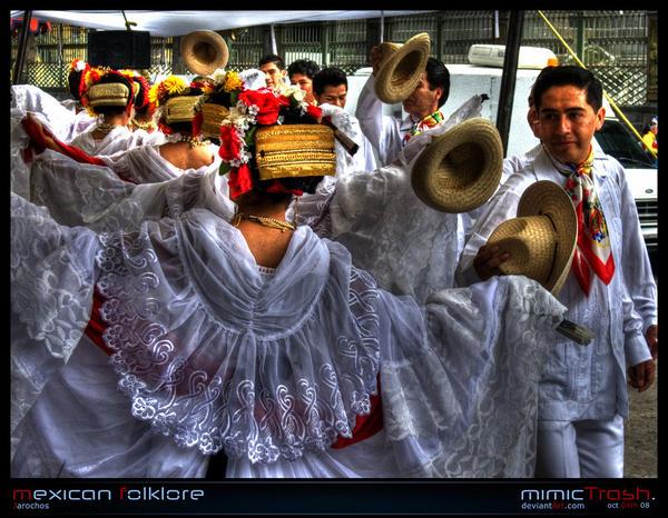 Mexican Folklore - JI by Hispanart