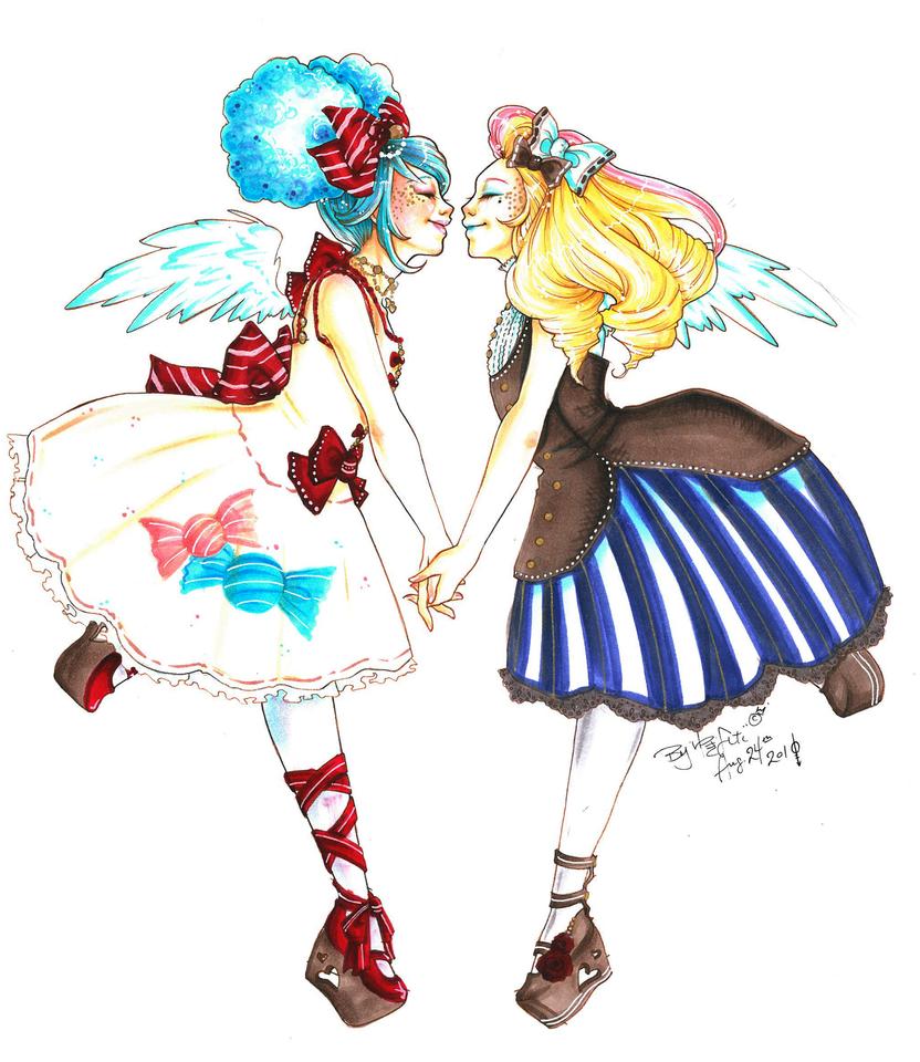 Dualistic Princess by hommeglorieux