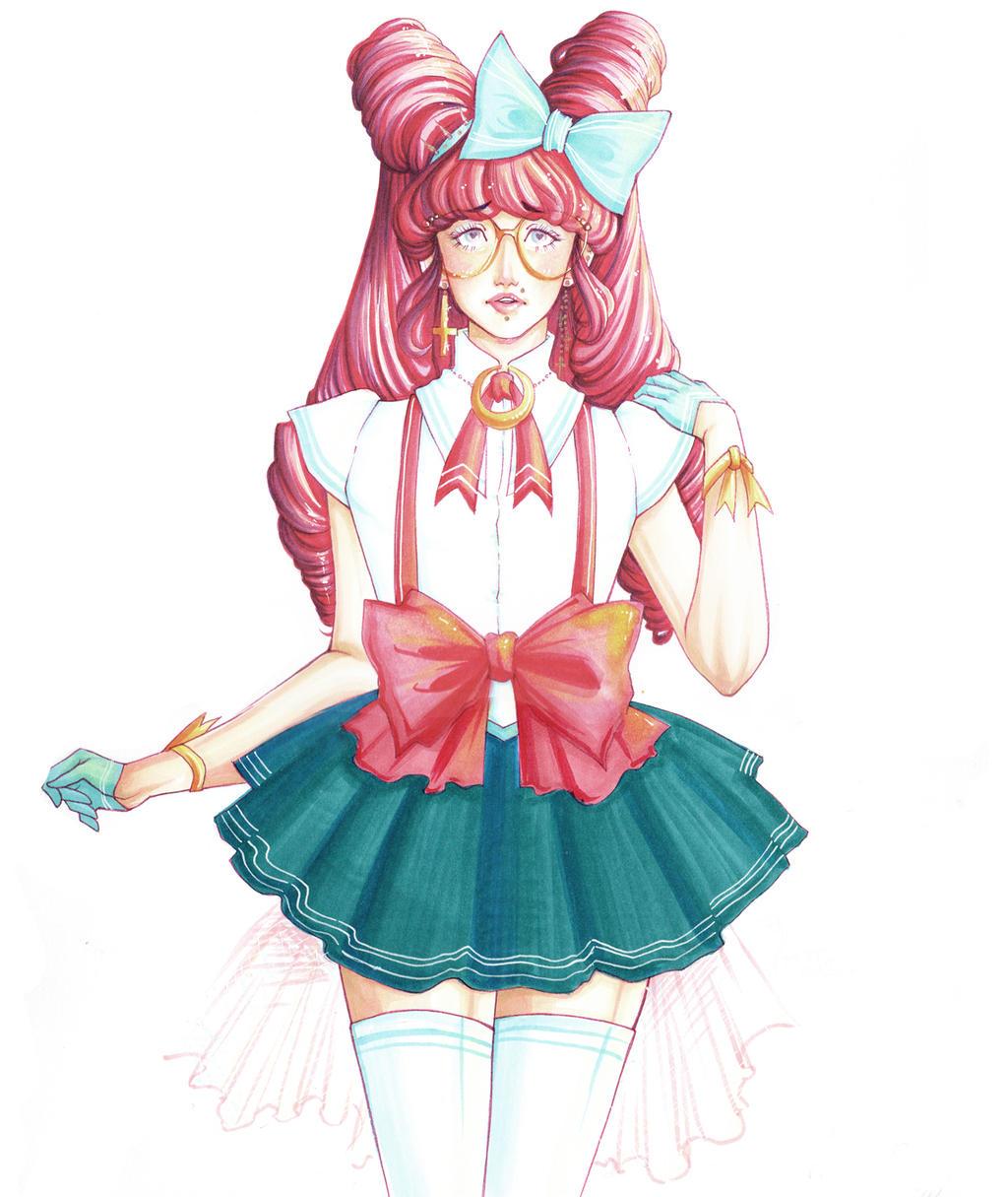 Sailor Ioria by hommeglorieux