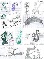 Doodles at school: random things