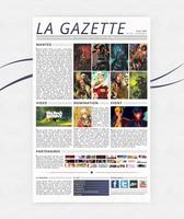 Maquette Gazette
